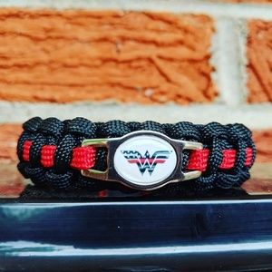 Jewelry - Wonderwoman Firefighter Paracord Bracelet